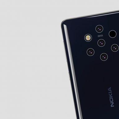 Nokia 9 PureView With Penta-Lens Camera